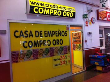 Informaci n casa de empe o compro oro centro comercial for Compro casa roma centro